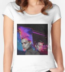 Billie Piper Women's Fitted Scoop T-Shirt
