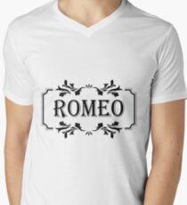 Frame Name Romeo Men's V-Neck T-Shirt