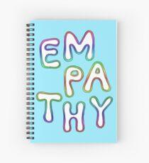 Cuaderno de espiral Empatía del arco iris