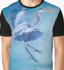 Misty Blue Graphic T-Shirt