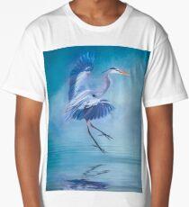 Misty Blue Long T-Shirt