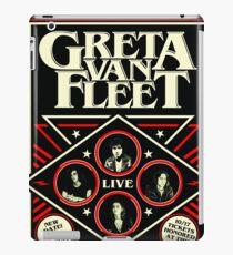 GRETA VAN FLEET TOUR 2018 COWONO iPad Case/Skin
