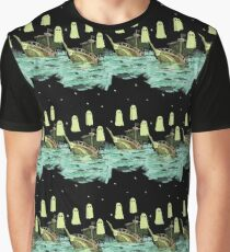 ghostship pattern  Graphic T-Shirt