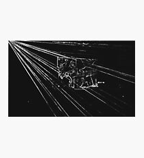 BLACK Electronic Underground #10 Photographic Print