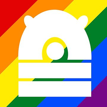 Rainbow Dalek by ToneCartoons
