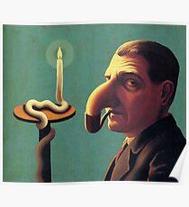 philosopher's lamp rené Magritte philosopher's lamp Poster