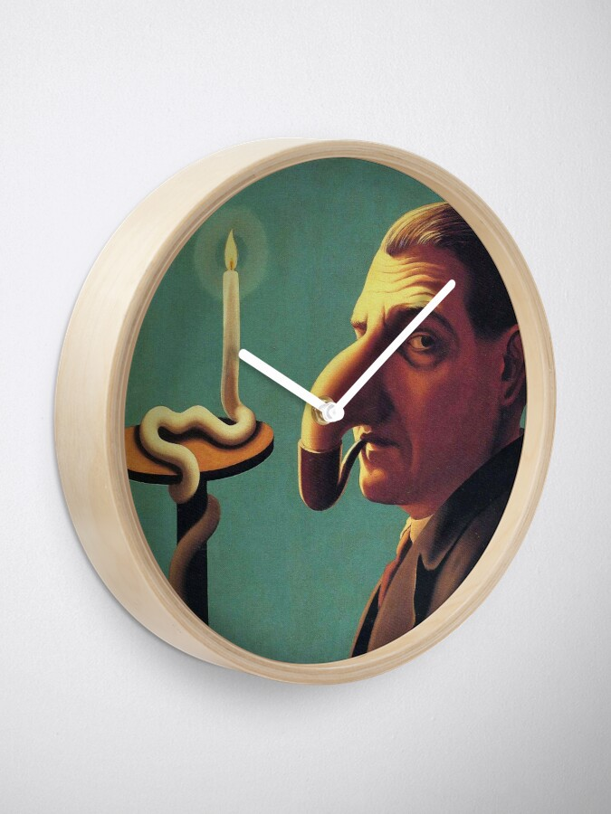 philosopher's lampClock lamp philosopher's rené Magritte iukTOXZwP