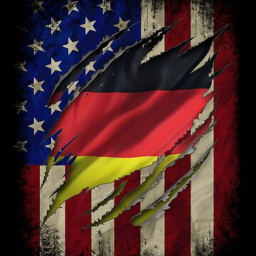 German American Flag German Roots Family Heritage Gifts by vince58