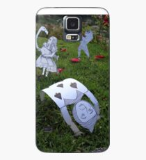Alice and the Croquet Game Case/Skin for Samsung Galaxy