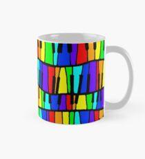 Rainbow piano  Mug