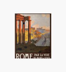 Vintage poster - Rome Art Board
