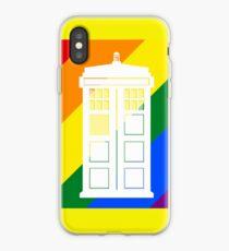 TARDIS PRIDE iPhone Case