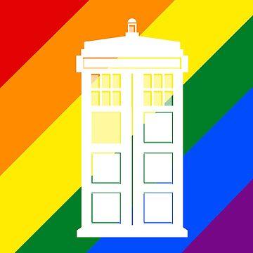 TARDIS PRIDE by ToneCartoons