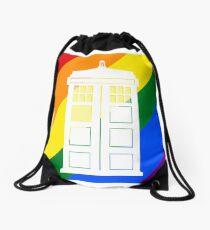 TARDIS PRIDE Drawstring Bag