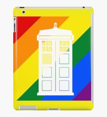 TARDIS PRIDE iPad Case/Skin