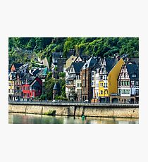 A Rhine River Town, Germany Photographic Print