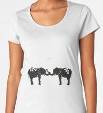 ELEPHANT LOVE Women's Premium T-Shirt