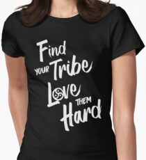 Find Your Tribe - BDSM Triskelion  Women's Fitted T-Shirt