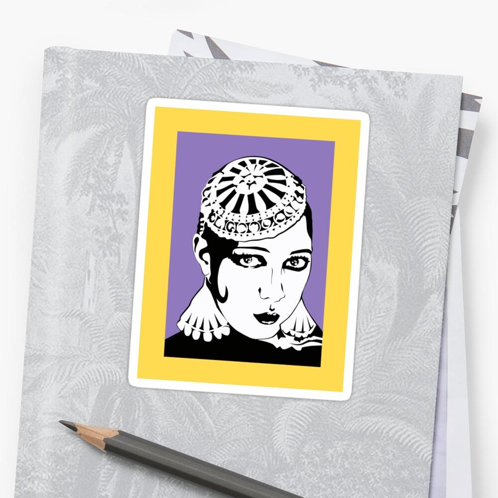 Josephine Baker Sticker