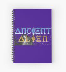 Ancient Alien Spiral Notebook