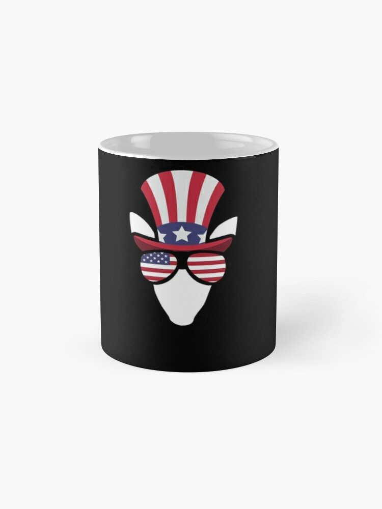 Vista alternativa de Taza Elk Happy 4th Of July