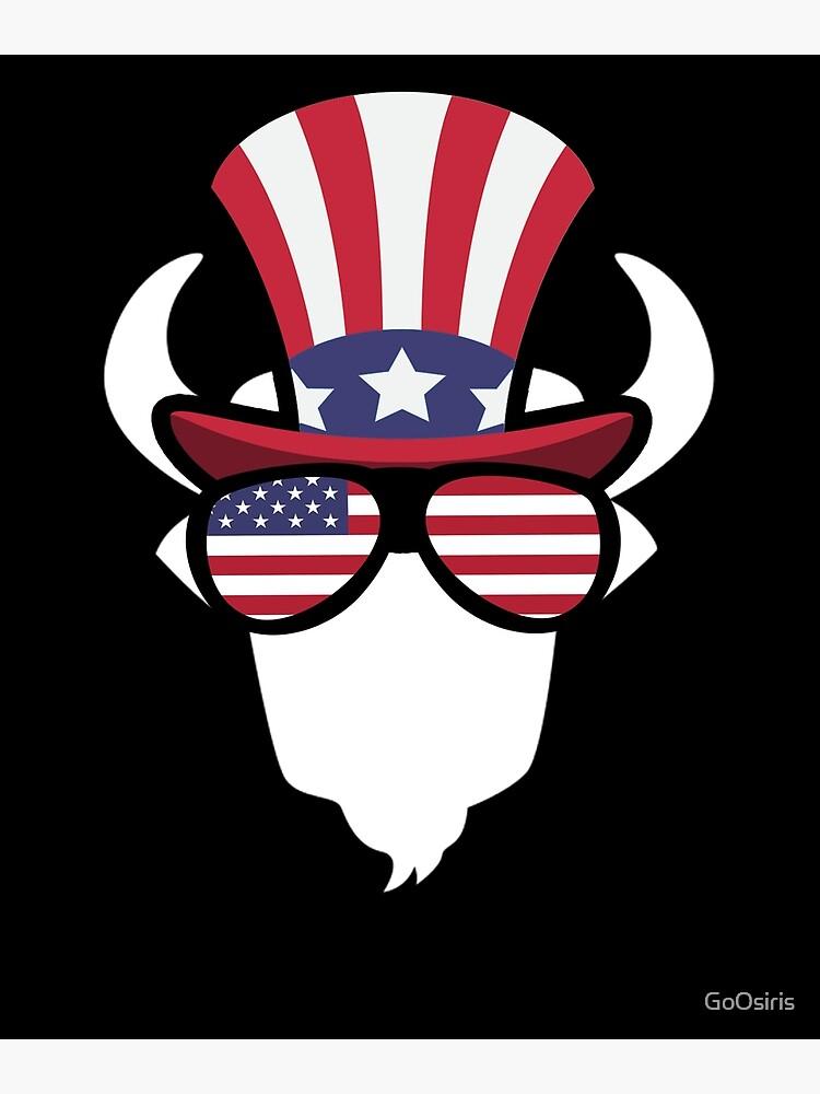 Buffalo Happy 4th Of July de GoOsiris
