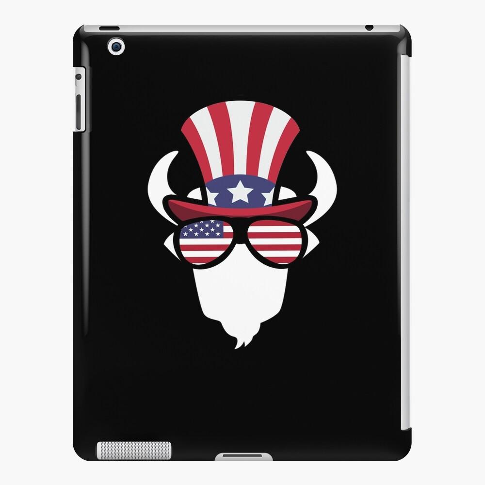 Buffalo Happy 4th Of July Funda y vinilo para iPad