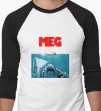 meg - goodbye bruce Men's Baseball ¾ T-Shirt