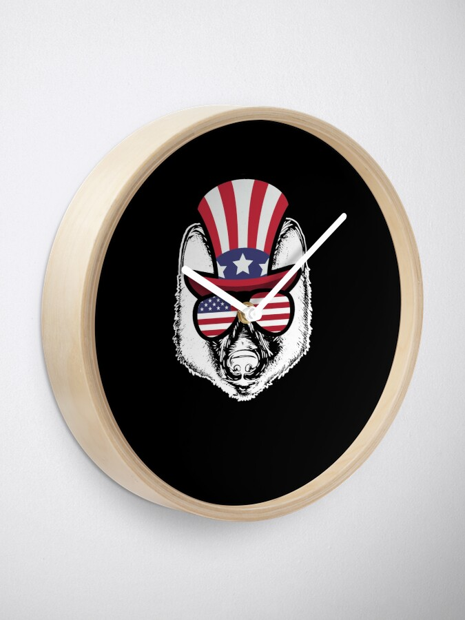 Vista alternativa de Reloj Wolf Happy 4th Of July