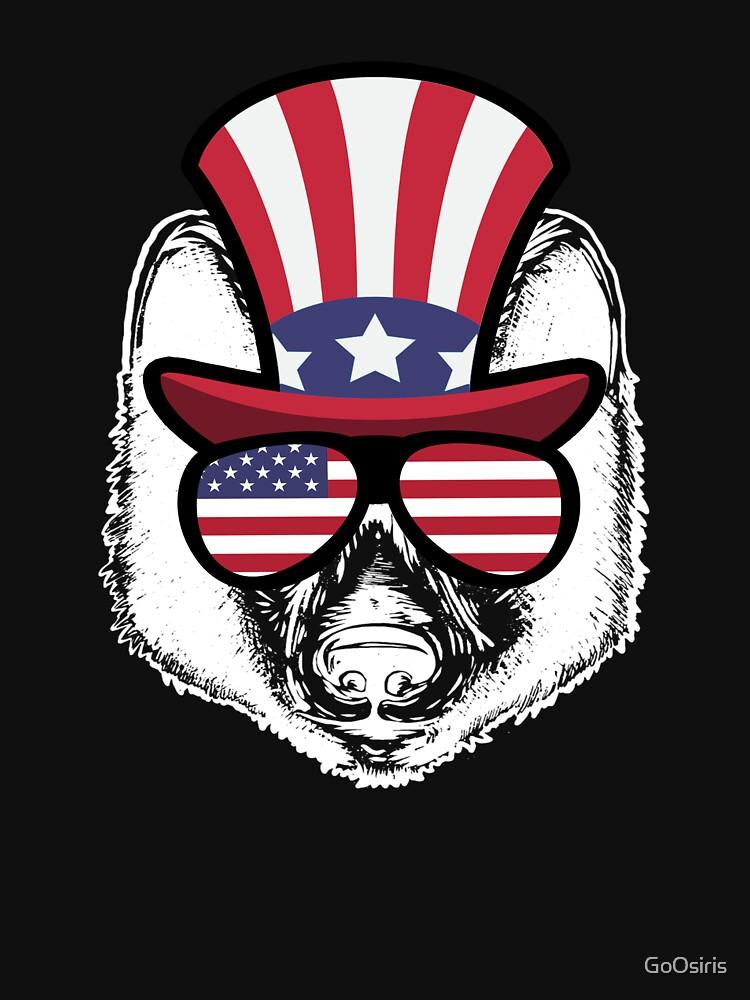 Wolf Happy 4th Of July de GoOsiris