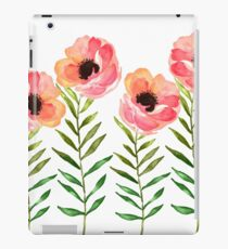 Watercolor Flower iPad Case/Skin