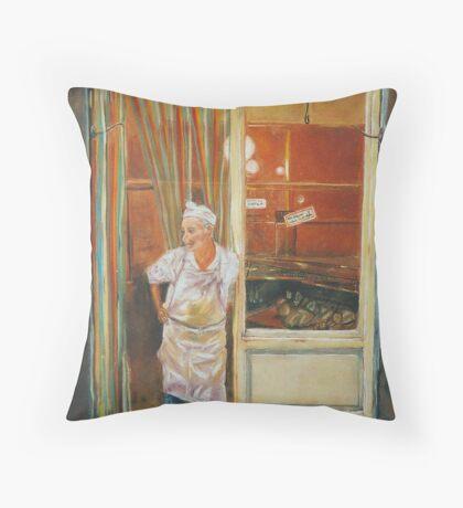The Tuscan Butcher Throw Pillow
