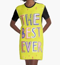 the BEST EVER Graphic T-Shirt Dress
