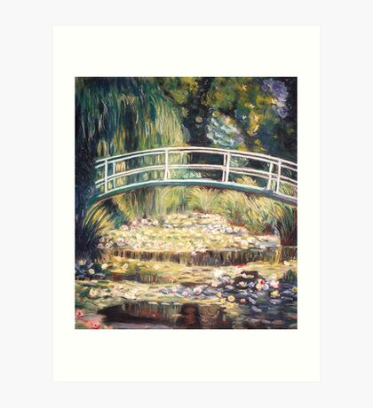 """After Monet - """"Le Bassin aux nymphéas"""" Art Print"""