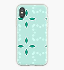 spirograph decorative seamless paisley colorful repeat pattern iPhone Case