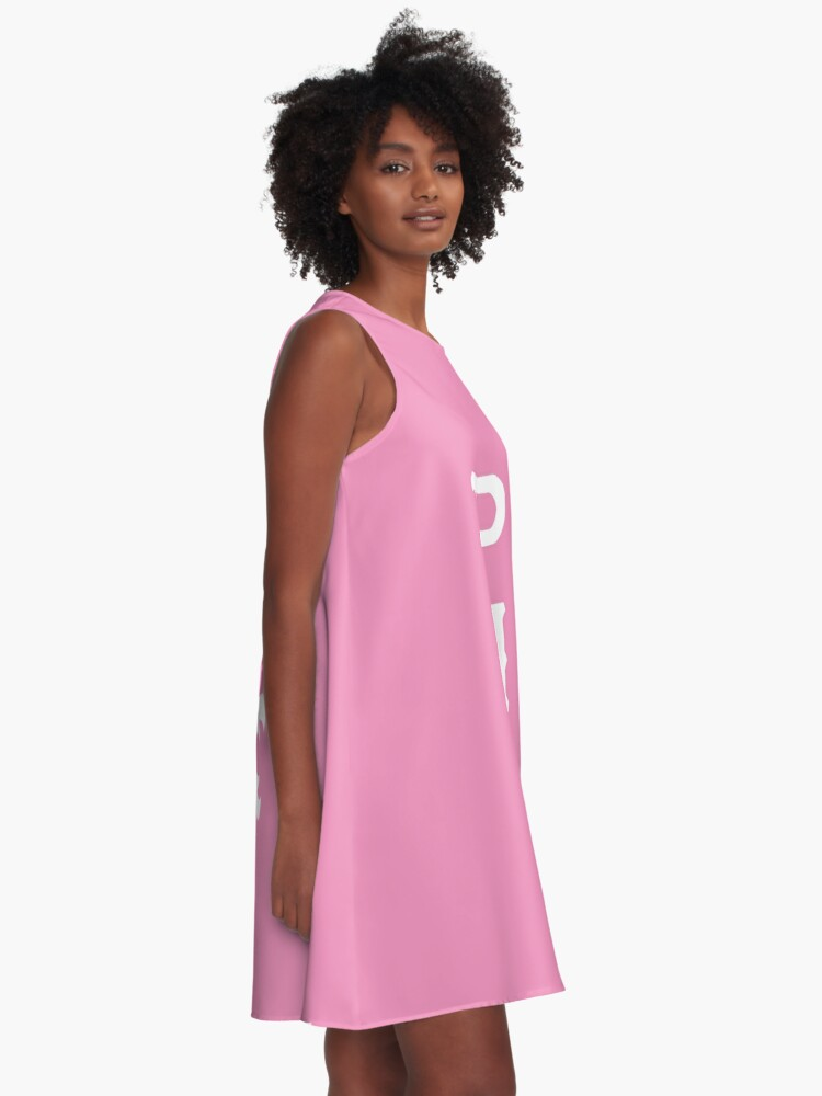 Alternate view of Python Nu Kappa (Monsters U) A-Line Dress