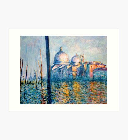 "After Monet - ""The Grand Canal"" Art Print"