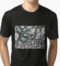 Mapping Spaces Tri-blend T-Shirt