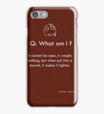 Riddle #10 iPhone Case/Skin