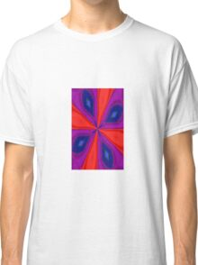 Red, Purple and Gold Quadrant Classic T-Shirt