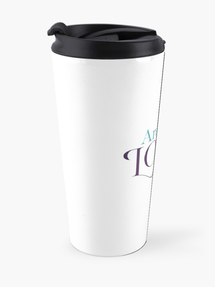 Alternate view of Arc of Love Travel Mug