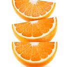 Orange slices on top of each other by 6hands