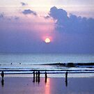 Sunset at Kuta Beach by Wayne Gerard Trotman