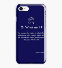 Riddle #5 iPhone Case/Skin