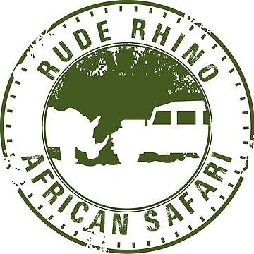 Rude Rhino African Safari by HomePlateCreate