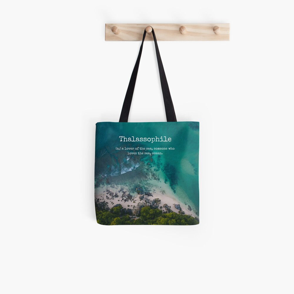 Beach Themed Thalassophile Products For the Beach Lover Inside You Tote Bag