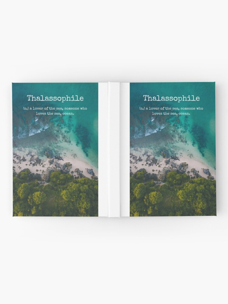Alternate view of Beach Themed Thalassophile Products For the Beach Lover Inside You Hardcover Journal