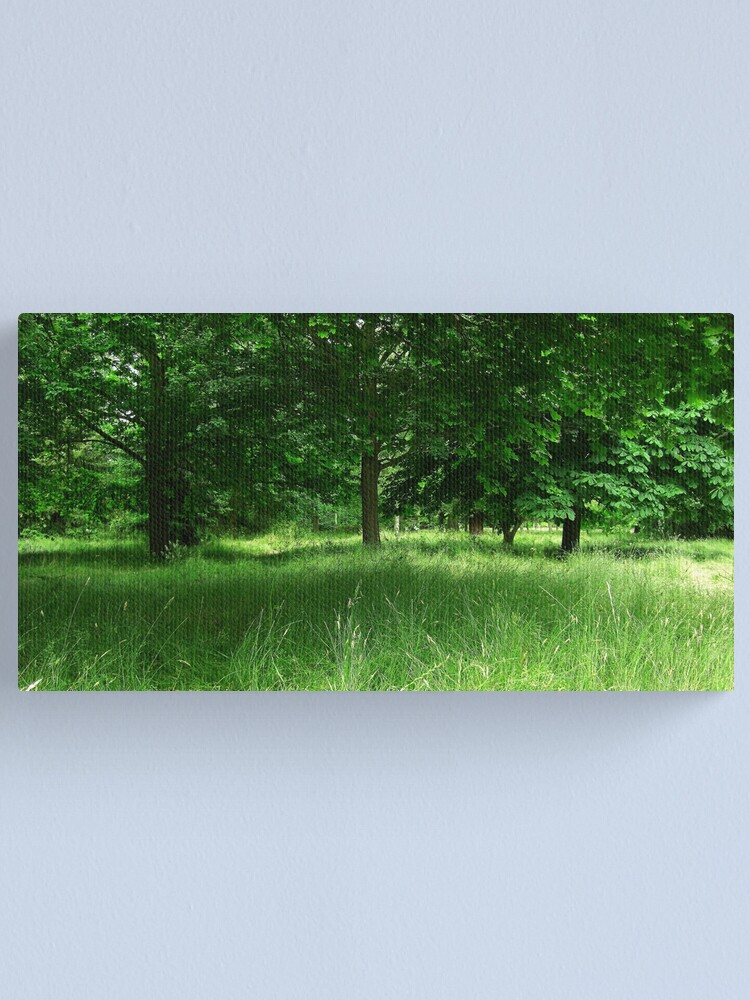 Alternate view of Dream of Green Canvas Print