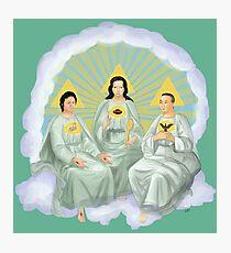 Holy Trinity Photographic Print