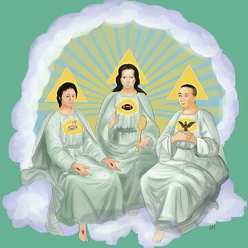 Holy Trinity by kestrelsgomoo